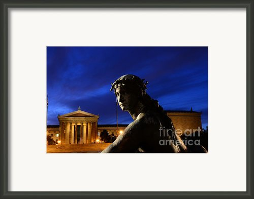 Guardian Angel Of Art Framed Print By Paul Ward