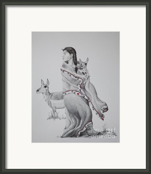 Guardian Of The Herd Framed Print By Tracy L Teeter