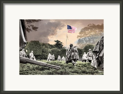 Guardians Framed Print By Jc Findley
