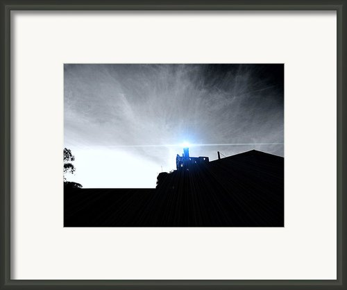 Guiding Light-alcatraz Framed Print By Douglas Barnard