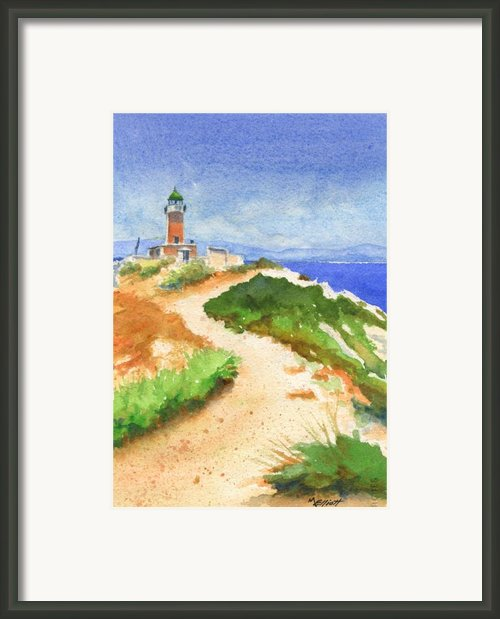 Guiding Light Framed Print By Marsha Elliott