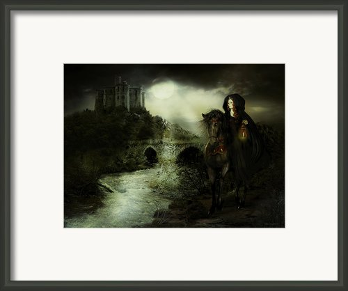 Guinevere Framed Print By Shanina Conway