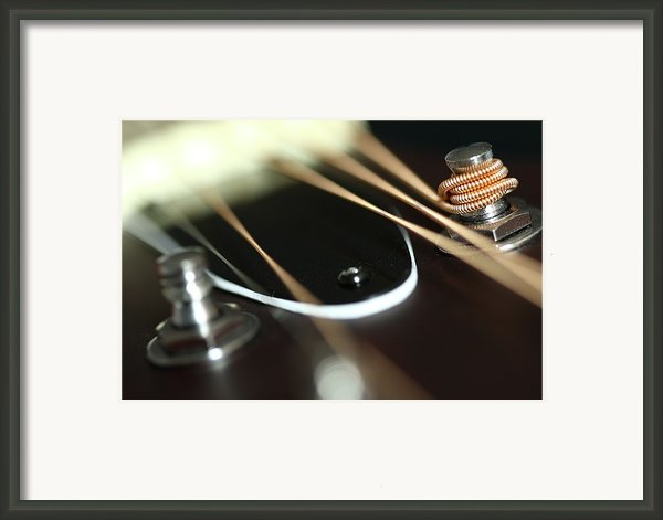 Guitar Fender Framed Print By Mizanur Rahman