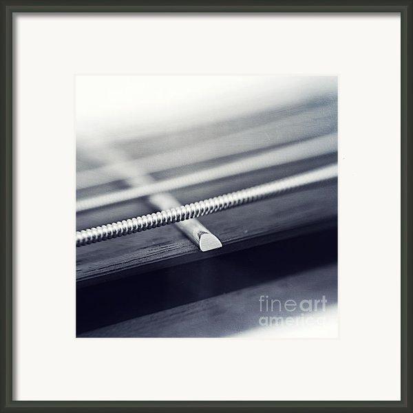 Guitar Iv Framed Print By Priska Wettstein
