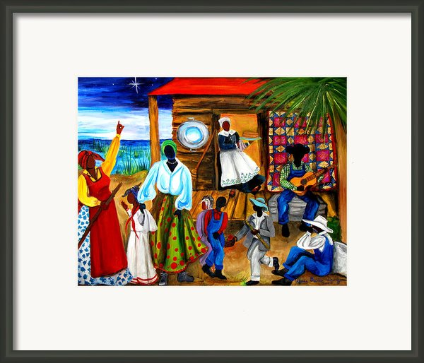 Gullah Christmas Framed Print By Diane Britton Dunham