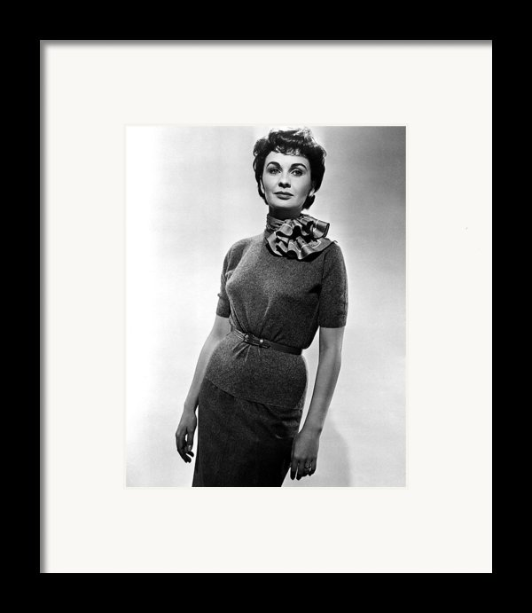 Guys And Dolls, Jean Simmons, 1955 Framed Print By Everett