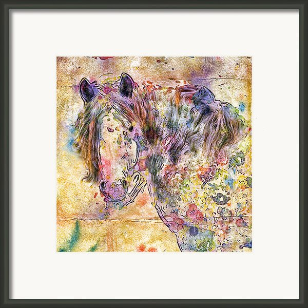 Gypsy Babe Framed Print By Marilyn Sholin