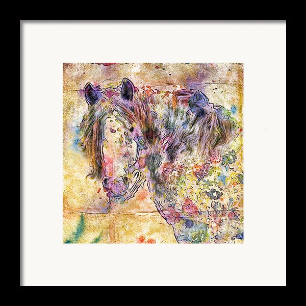 Gypsy Babe Framed Print By Marilyn Sholin