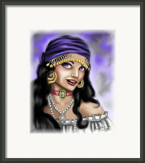 Gypsy Framed Print By Scarlett Royal