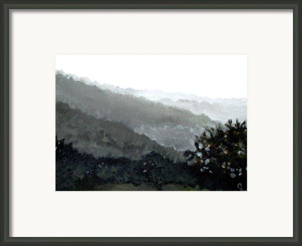 Hacienda Lamberti Framed Print By Sarah Lynch