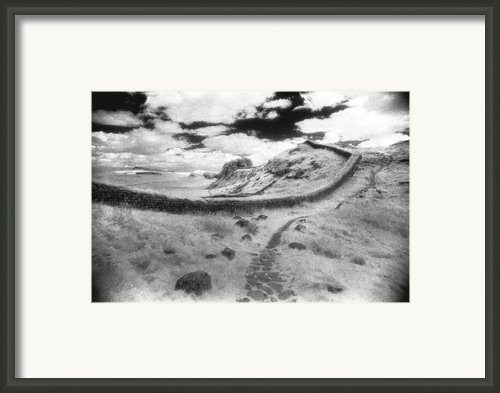 Hadrians Wall Framed Print By Simon Marsden