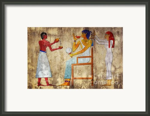 Hairdresser Framed Print By Michal Boubin