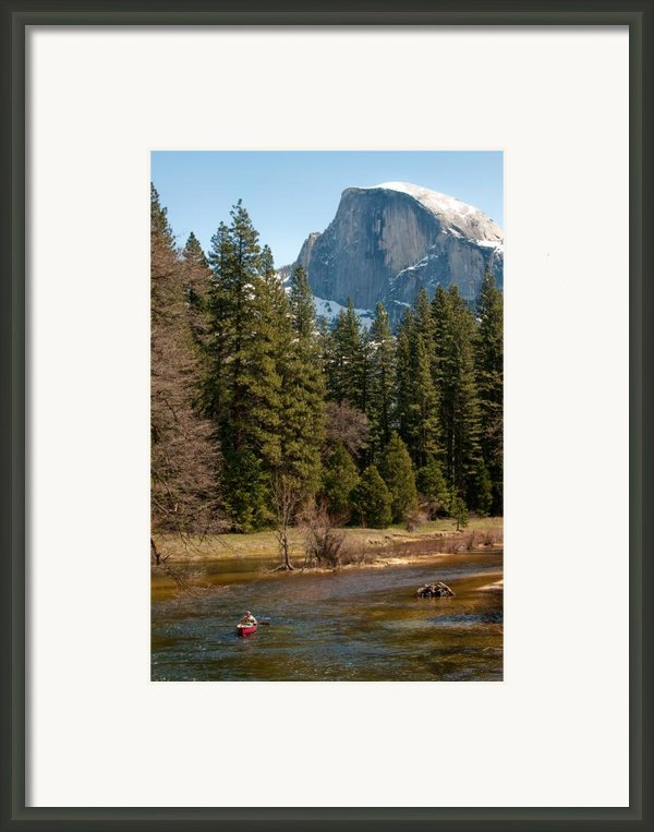 Half Dome Yosemite Framed Print By Tom Dowd