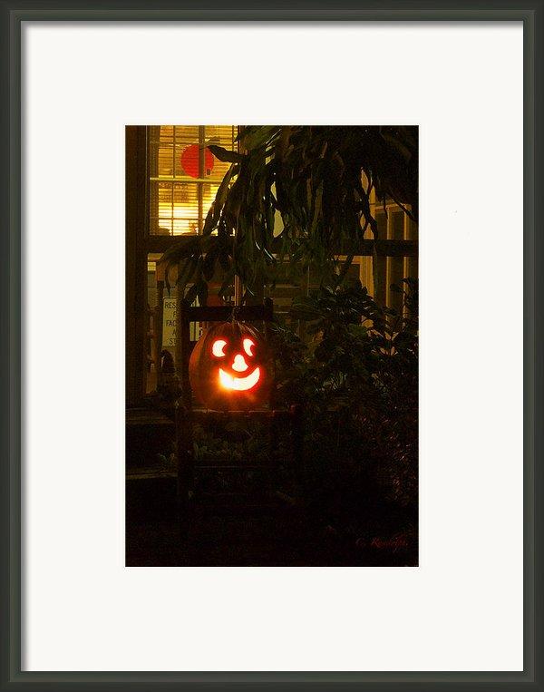Halloween Beacon Framed Print By Cheri Randolph