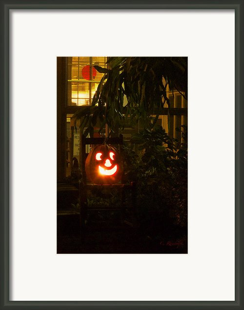 Halloween Beacon Framed Print By Cheri Randolph