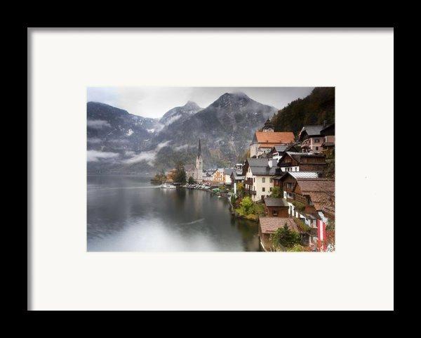 Hallstatt Framed Print By Andre Goncalves