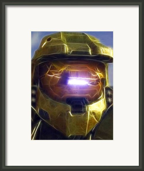 Halo Mistical Framed Print By Paul Van Scott
