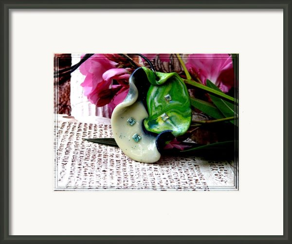 Handmade Art In Nature Framed Print By Chara Giakoumaki