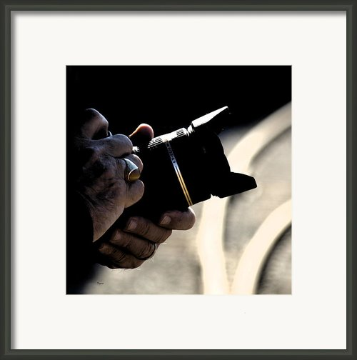 Hands At 270mm Framed Print By Steven  Digman