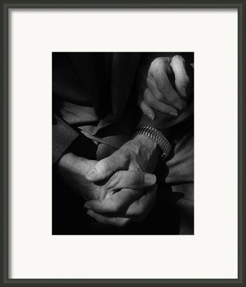Hands Of Time Framed Print By Steven Milner