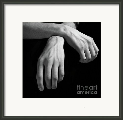Hands Study Framed Print By Gabriela Insuratelu