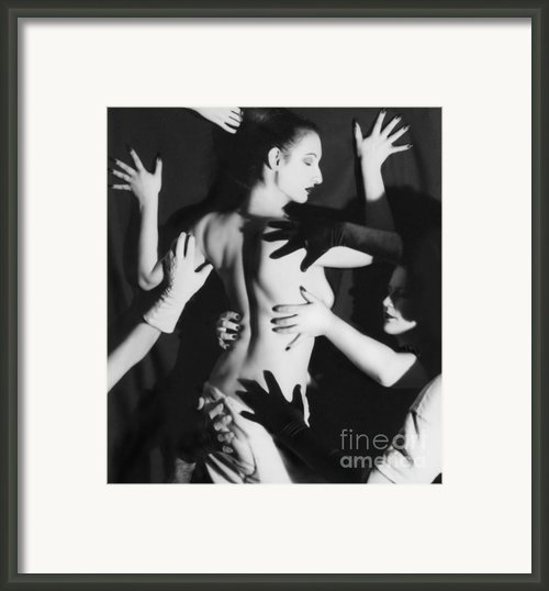 Hands Upon Me Framed Print By Jaeda Dewalt