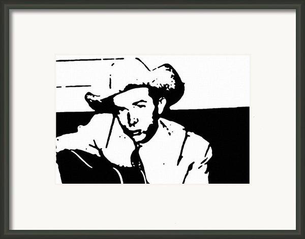 Hank Williams Framed Print By Jeff Dottavio