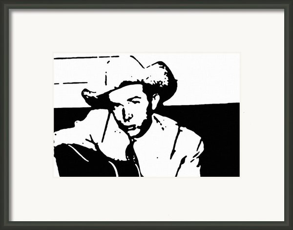 Hank Williams Framed Print By Jeff Dottavio