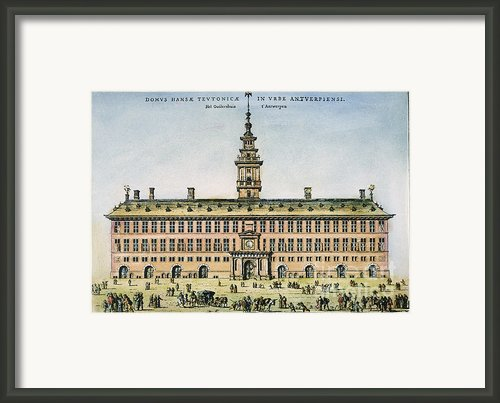 Hanseatic League, Antwerp Framed Print By Granger