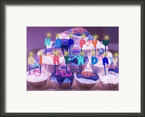 Happy Birthday Framed Print By Holly Kempe