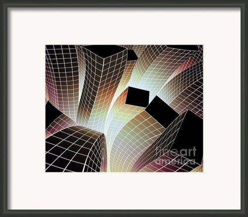 Happy City Framed Print By Atiketta Sangasaeng