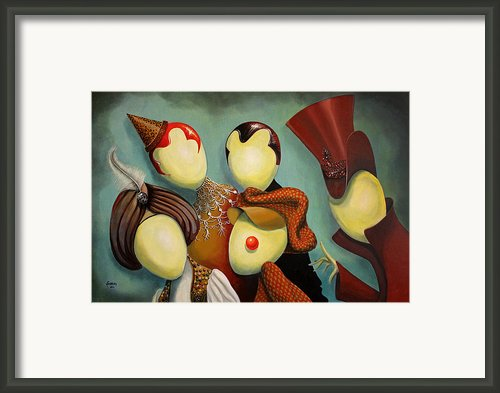 Happy Friday Framed Print By Fabrini Crisci