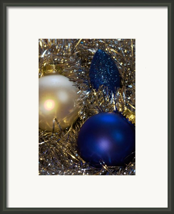Happy Holidays Card 02 Framed Print By Karen Musick