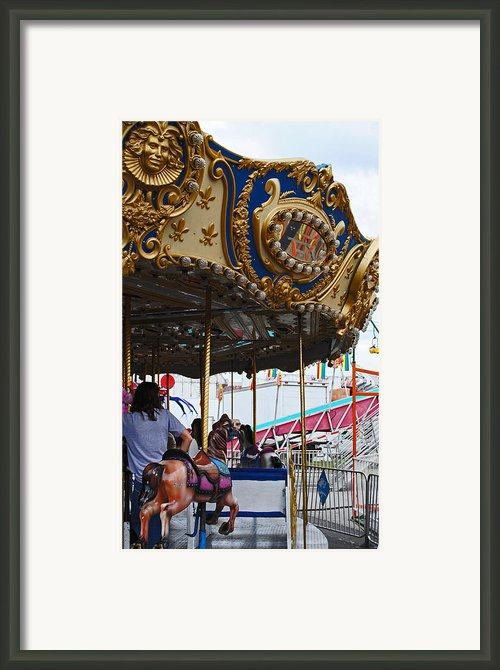 Happy Ponies Framed Print By Skip Willits