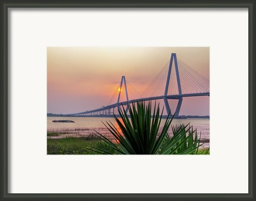Harbor Sunset Framed Print By Drew Castelhano
