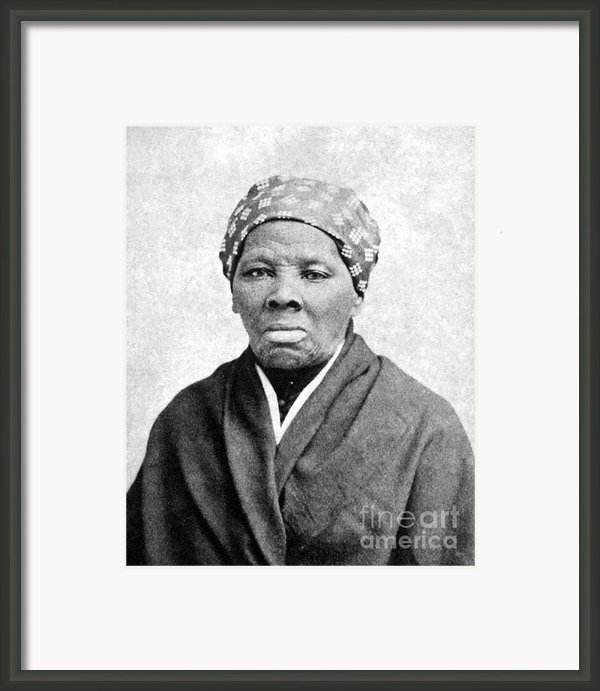 Harriet Tubman (1823-1913) Framed Print By Granger