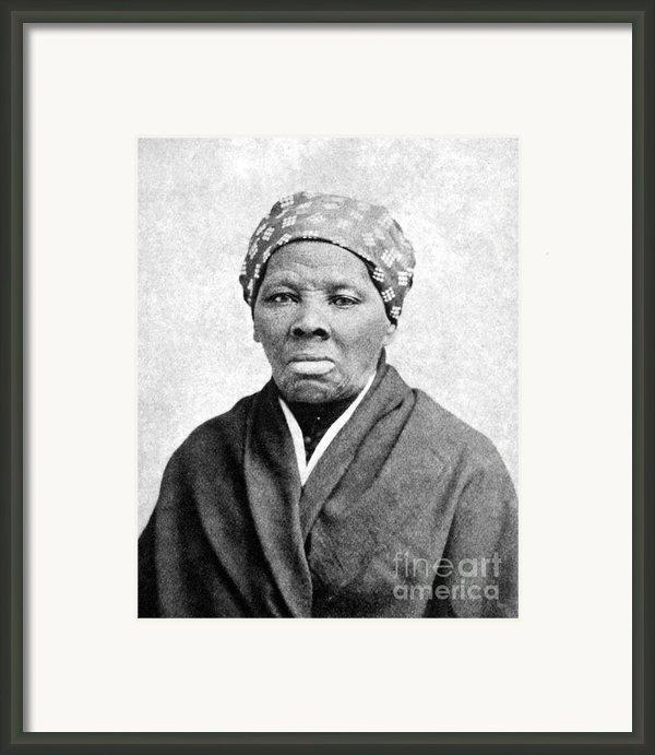 Harriet Tubman (1823-1913) Framed Print By Granger