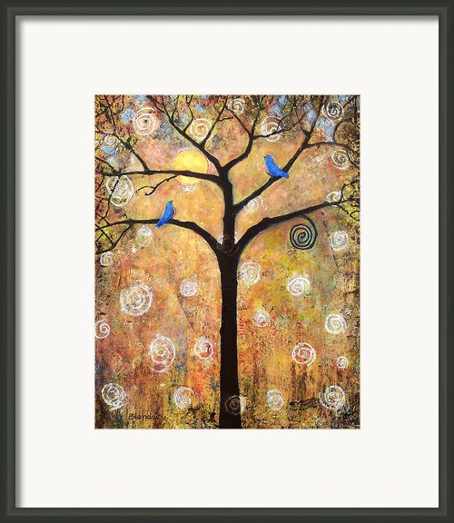 Harvest Moon Framed Print By Blenda Studio