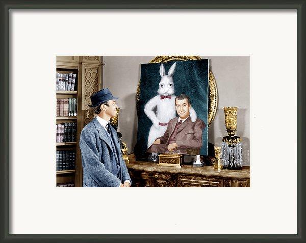 Harvey, James Stewart, 1950 Framed Print By Everett