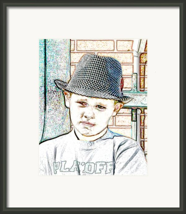 Hat Of A Hero Framed Print By Lynn Reid