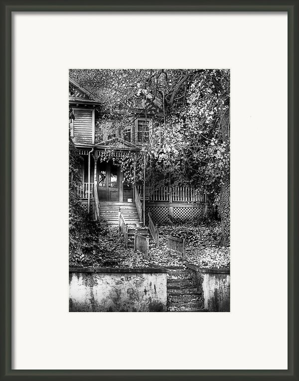 Haunted - Abandoned Framed Print By Mike Savad