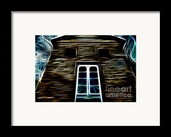 Haunted House Framed Print By Cheryl Young