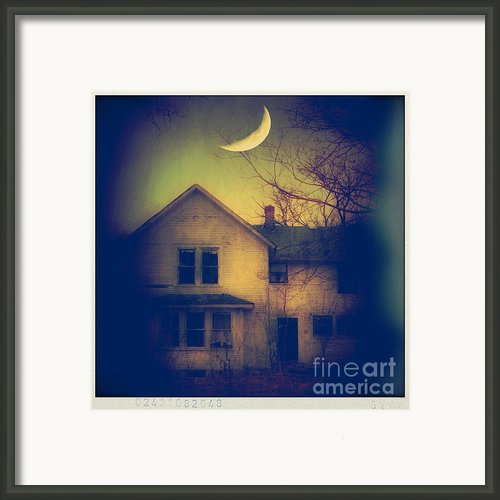 Haunted House Framed Print By Jill Battaglia