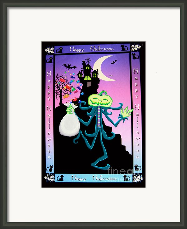 Haunted House Framed Print By Nick Gustafson