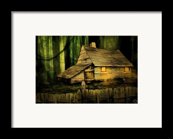 Haunted Shack Framed Print By Lourry Legarde