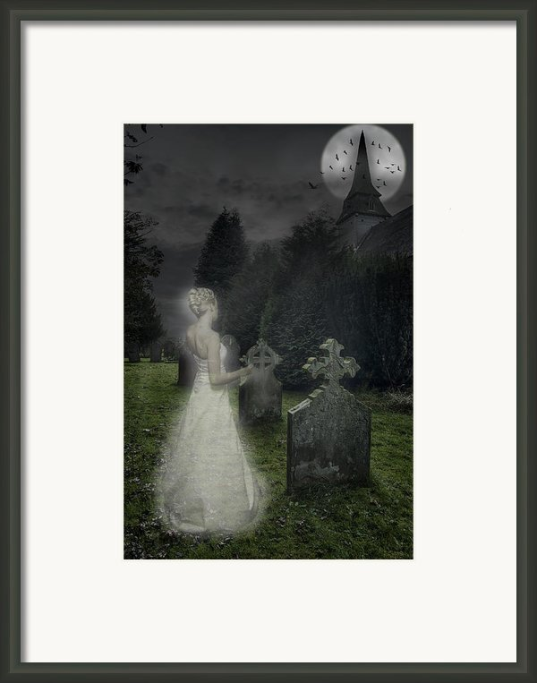 Haunting Framed Print By Christopher And Amanda Elwell
