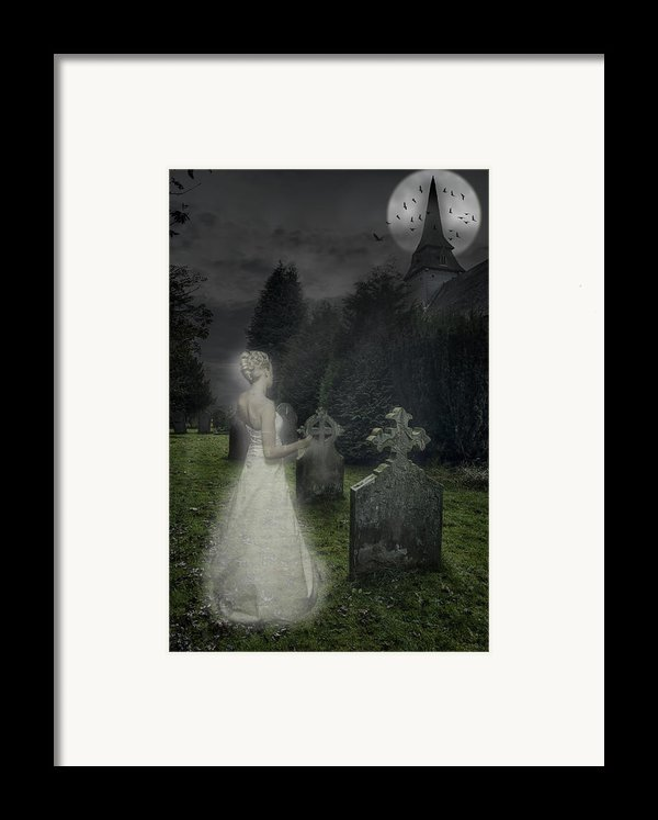 Haunting Framed Print By Amanda And Christopher Elwell