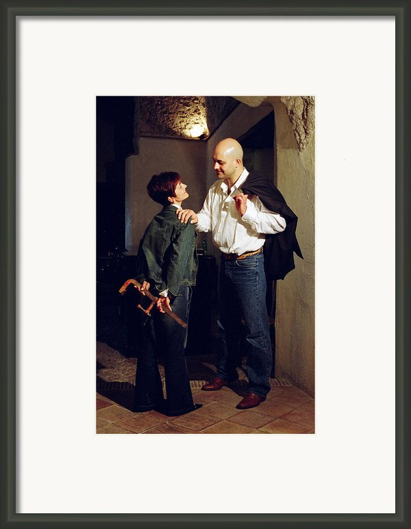Have Those Marriage Scenes An Happy End? 2 Framed Print By Fabio Cicala