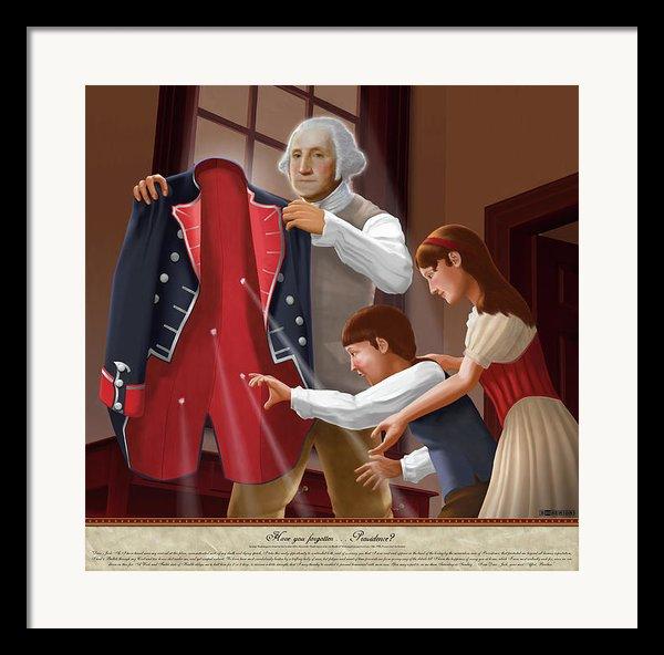 Have You Forgotten Providence Framed Print By Brett H Runion