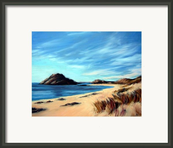 Havik Beach Framed Print By Janet King